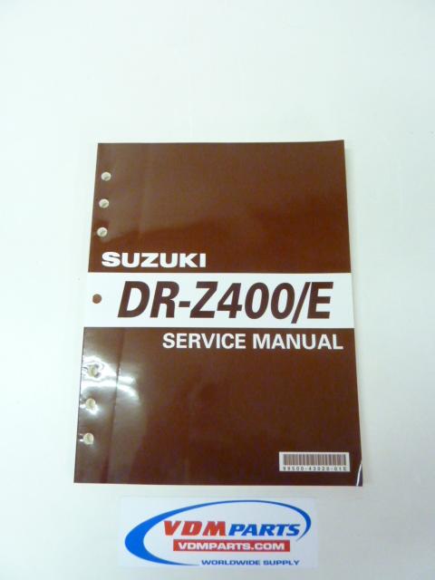 Suzuki Drzsm Service Manual Pdf